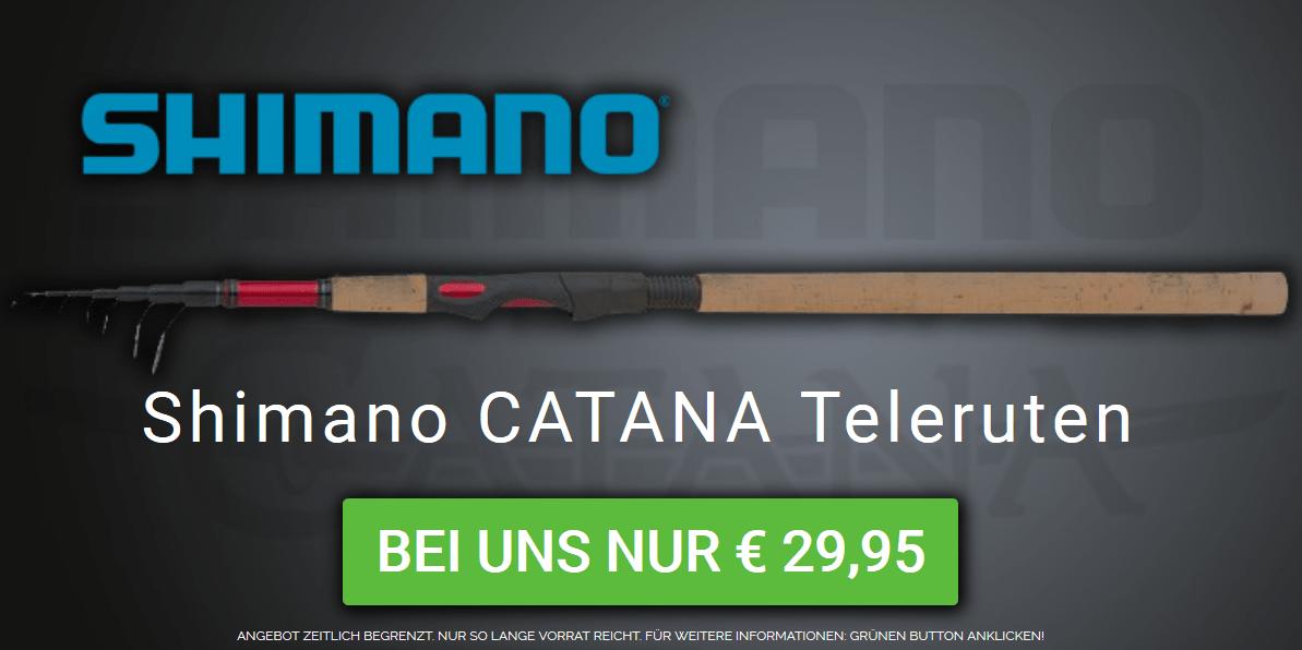 Jede Shimano Catana Telerute – Nur EURO 29,95