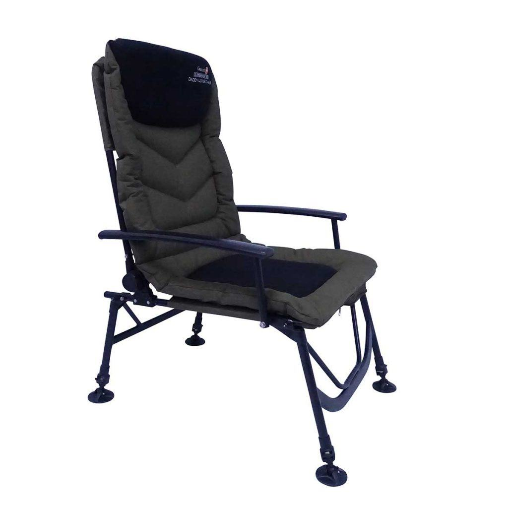 Der Prologic Commander Daddy Long Chair - der perfekte Stuhl belastbar bis 140 kg!
